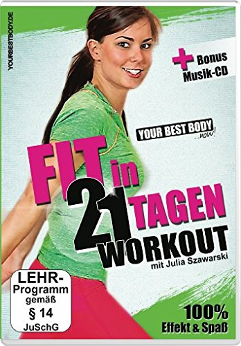 Your Best Body - Fit in 21 Tagen (+ Audio-CD) [2 DVDs]