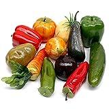 Gemüse Mix, 12 Stück Sortiment künstlich, deko vegetables/ NICE PRICE !!!