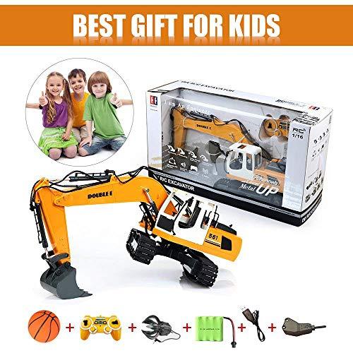 RC Auto kaufen Baufahrzeug Bild 5: KEISL 3-in-1 Ingenieurmaschinen-Auto, RC Bagger, Fernbedienung, Traktor, Spielzeug, Baufahrzeuge*