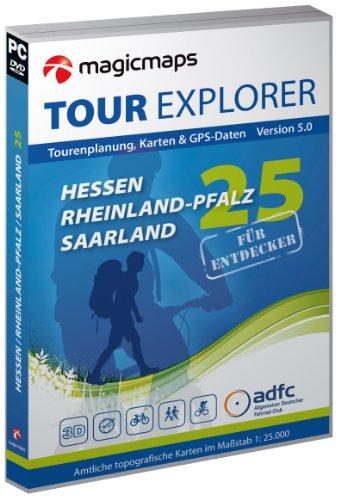 Tour Explorer , Version 5.0 Deutschland -  Hessen / Rheinland-Pfalz / Saarland, Version 5.0