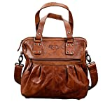 Pride and Soul Lady's Bag Holly Sporttasche, 35 cm, 9 L, Cognac