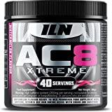 AC8 Xtreme Pre Workout - Watermelon - High in B12 with Creatine, Taurine