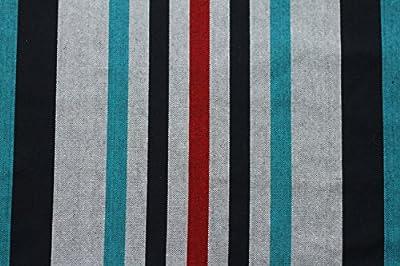 Vivere Doppel Baumwolle Hängematte mit weiß Hängemattengestell