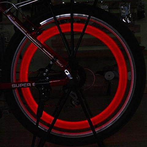 Skull Valve Cap Luce Auto Moto pneumatico di rotella di colore della lampada in caso