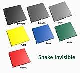 Fortelock® PVC-Vinylfliese 2030 Snake Invisible Grau