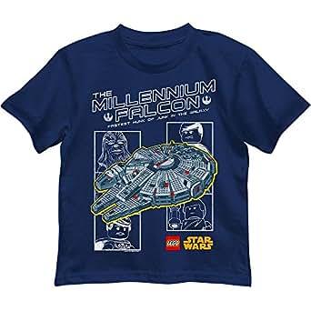 LEGO Star Wars Millennium Falcon T-shirt per bambini Navy blue 5-6 Anni