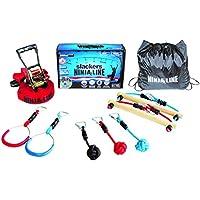 SLACKERS Intro Kit Parcours d'obstacles à Suspendre Mixte Enfant, Multicolore