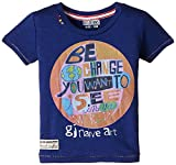 Gini & Jony Boys' T-Shirt (111020660839 1130_German Navy_11 - 12 years) best price on Amazon @ Rs. 899