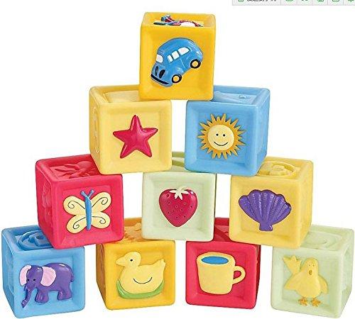 Bausteine-Set, weiches Gummi, Kinderspielzeug