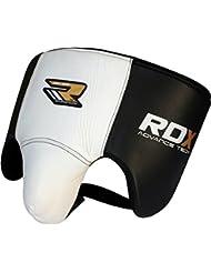 MMA RDX Piel de la Vaca del Cuero Abdo Groin Protector Copa Boxeo abdominal Adulto Muay Tailandés Vorrea del Atleta