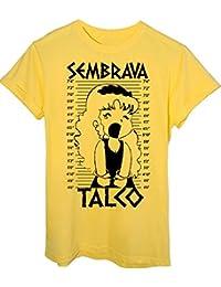 T-Shirt Sembrava Talco Pollon Foto Segnaletica - Anime & Videogames - Bambino-M - Gialla