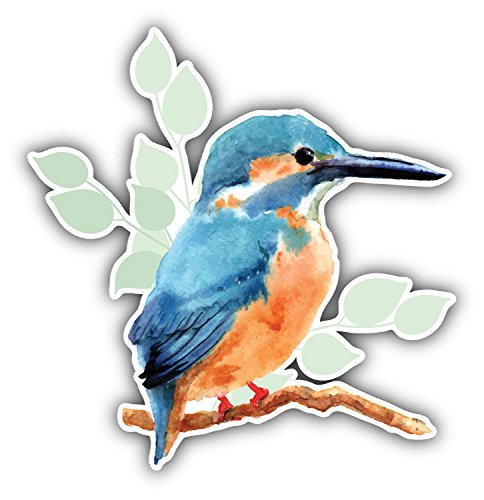 kingfisher-watercolor-bird-pegatina-de-vinilo-para-la-decoracion-del-vehiculo-12-x-12-cm