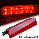 for Caddy LED 3rd Centre High Level Rear Brake Light Third Tail Stop Lamp 2004-2015