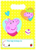 Peppa Pig Red Party Loot Bags