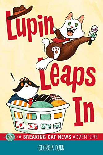 Lupin Leaps In: A Breaking Cat News Adventure (English Edition)