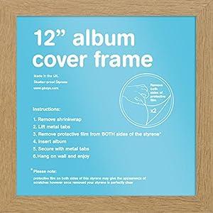 GB Eye 31,5x 31,5cm Album Rahmen, Eiche, Mehrfarbig