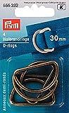 Stoffe Werning Halbrundringe 30 mm Altmessing Prym Nr: 555232