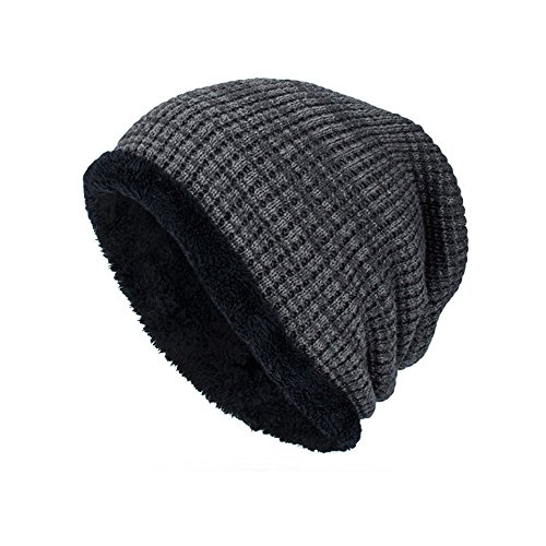 VRTUR Unisex Knit Cap Warm portlich Elegantes Outdoor Fashion Head Hat Strick Mütze Hedging ()