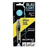 BLUFIXX MGS für Metall, Glas und Stein - Nachfüllkartusche, Schwarz