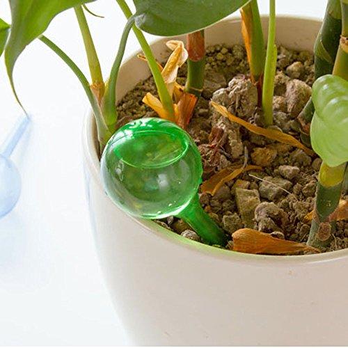 """NINGSANJIN Blumen Bewässerungskugeln, Pflanze Gießkugeln Selbstbewässernde Aqua Globen (5.12""""*1.97"""", Grün)"""