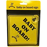 Playette Goldbug Baby on Board Sign
