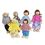 #10: Family Finger Puppets - People Includes Mom, Dad, Grandpa, Grandma, Brother, Sister