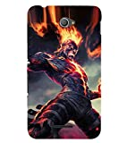 for Sony Xperia E4 Dual Laughing Man (Laughing Man, Man, Big Mouth, Man in Mouth) Printed Designer Back Case Cover by Good Covers