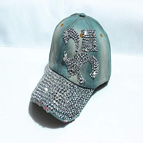 zhuzhuwen Entenzungenausschnitt Vasenpunktbohrer Cowboy Damen Baseball Cap 3 verstellbar -