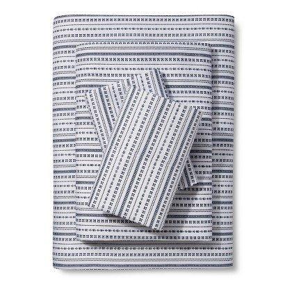 xhilaration-microfiber-sheet-set-b-w-striped-sampler-size-twin-by-xhilaration