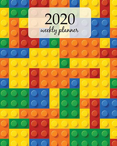2020 Weekly Planner: Calendar Schedule Organizer Appointment Journal Notebook and Action day With Inspirational Quotes  Plastic construction blocks. ... (Weekly & Monthly Planner 2020, Band 406)