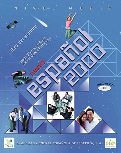 Medio: Nuevo Español 2000. Kursbuch mit Audio-CD