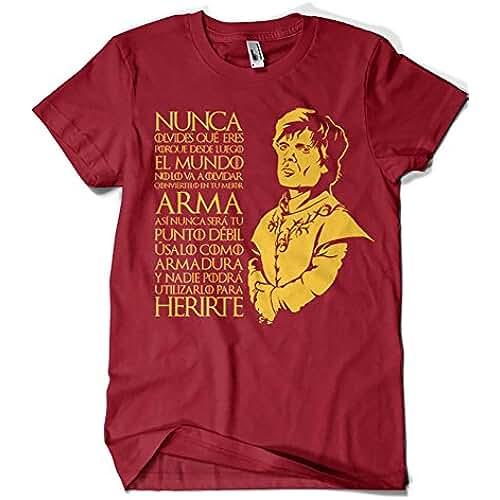 dia del orgullo friki 1303-Camiseta Tyrion Juego de tronos (MosGraphix)