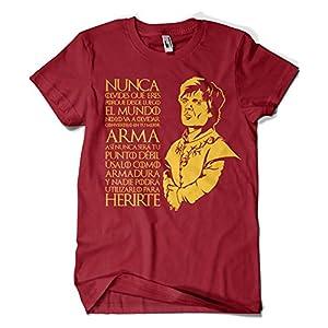 Camisetas La Colmena 1303-Camiseta Tyrion Juego de Tronos,(Granate) 13