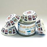 #9: Bakewala Standard Size Cupcake Paper Liners - Cupcake design - 11cm -100 pcs