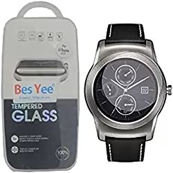 LG G Watch Urbane W150 Tempered Glass Screen Protector, Maxhood Real 0.3mm Premium Watch Tempered Glass Screen Protector Film for LG G Watch Urbane W150
