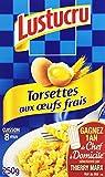 Lustucru Pâtes Torsettes aux œufs frais 250 g