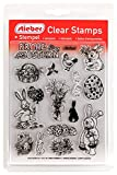 Clear Stamps Transparente Stempel Sets (bitte gewünschtes Motiv/Thema unten auswählen!) (FROHE OSTERN - HAPPY EASTER)