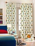Original Disney Winnie Puuh Pooh&Tiger 1 St.XXL Fertig-Schlaufenschal/Gardine/Vorhang L 290cm x B 140cm Leicht Creme NEU Baumwolle