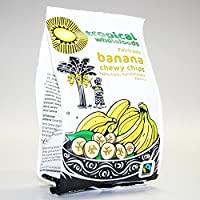 Tropical Wholefoods | Sun Dried Banana Chips | 2 x 14 x 150g
