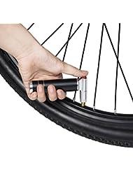 Babimax CO2 Inflador Miniatura de Tsui General para Ciclismo Mini Bomba Ligero de Aluminio para Bicicleta
