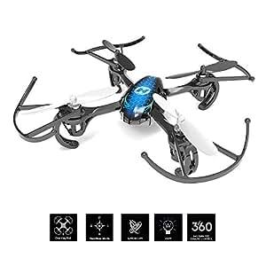 Holy Stone Mini Drohne HS170 RC Quadrocopter 2.4GHz 6-Achsen-Gyro Helicopter ferngesteuert mit Fernbedienung EIN Best Spielzeug Drone für Kinder ab 12 Jahre und Anfänger, Farbe blau