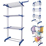MultiWare Foldable 3 Layer Tier Clothes Airer...