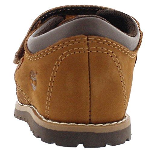 Timberland Pokey Pine Fisherman Infant Medium Brown Nubuck Flat Sandals Medium Brown