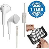 Captcha YS Earphone/ Handsfree With Mic & 3.5 Mm Jack With Car Net Holder Phone Holder Pocket Organizer String BagCompatible With Xiaomi, Lenovo, Apple, Samsung, Sony, Oppo, Gionee, Vivo Smartphones (One Year Warranty)