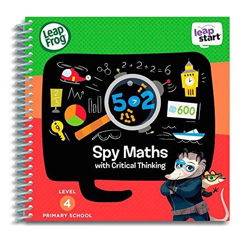 Leapfrog Leapstart l'école primaire livre d'activités : Spy Maths et Pensée Critique