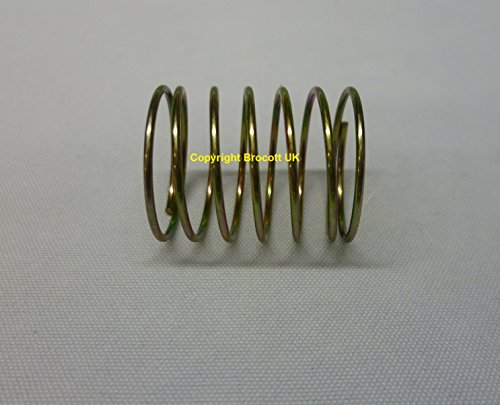 compressed metal spring. compression spring / pressure engineering spring. see below for dimensions compressed metal