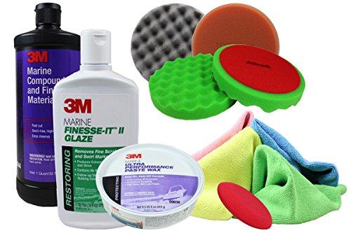 3m-marine-set-schleifpaste-politur-wax-06044-09048-09030-bootspolitur-polierpads-mikrofasertcher