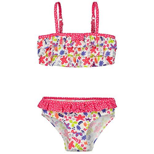 571dfdb76a816 Maillot de bain 2 pièces top + slip fille Petite Fleur - Taille - 4/