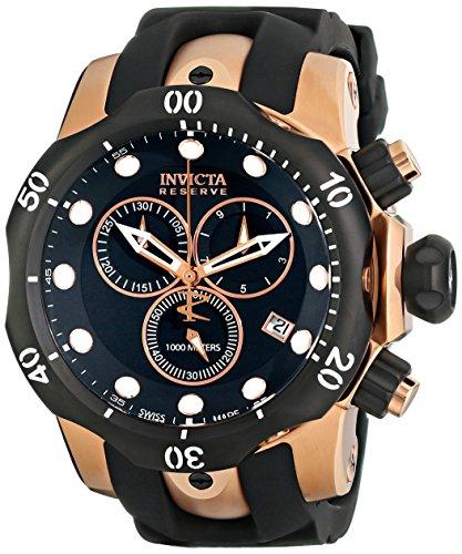 Invicta Reserve Herren-Uhren Quarz Chronograph 5733 (Für Uhren Invicta Männer Venom)