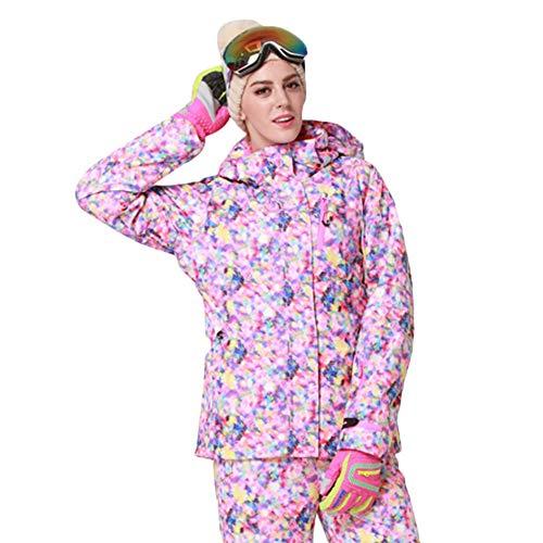 fdghhgjgtkuyiuy Heißer Frauen Mit Kapuze Outdoor Wasserdichte Ski Schnee Jacke Winddicht Warme Mantel Kleidung blau XXL